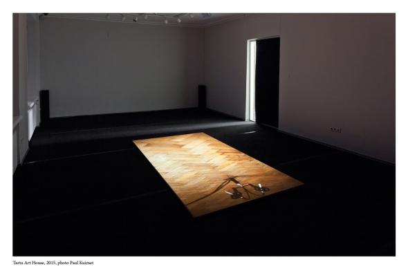 Recording Floor installation view