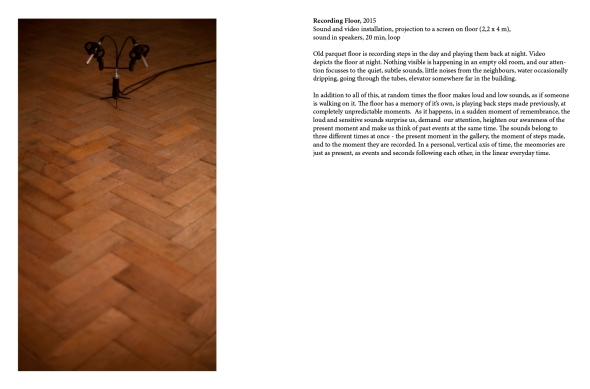 Recording Floor